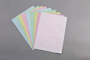 CARBONLESS COPY PAPER IN SHEETS