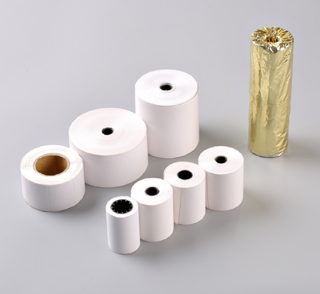 THERMAL PAPER IN SMALL ROLLS