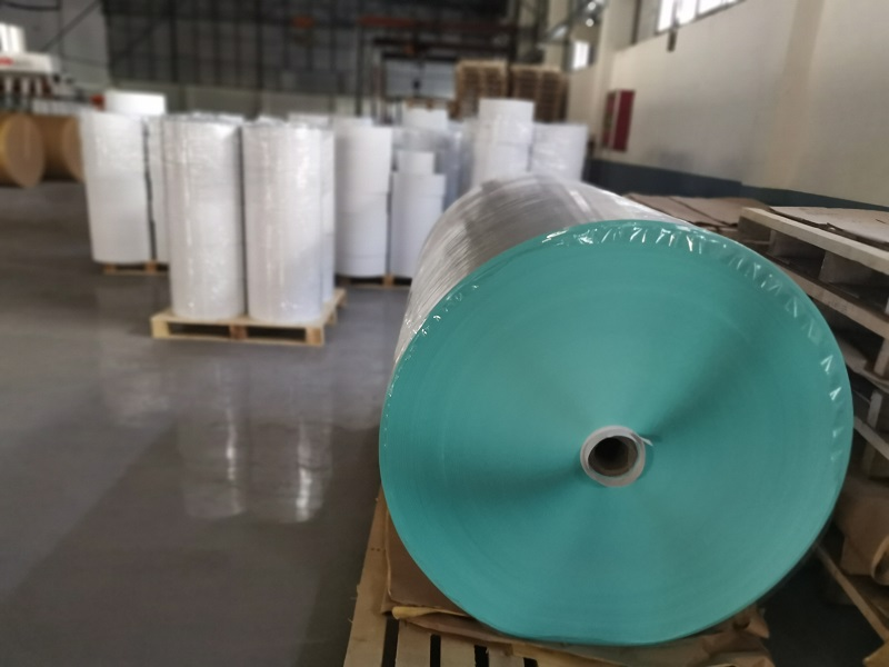 THERMAL PAPER STICKER IN JUMBO REELS